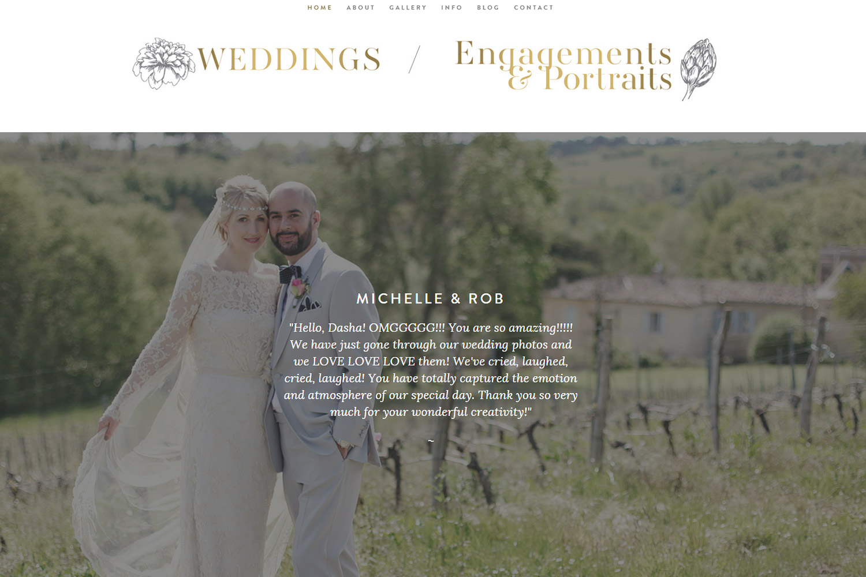 wedding photographer Ireland testimonials Dasha Caffrey