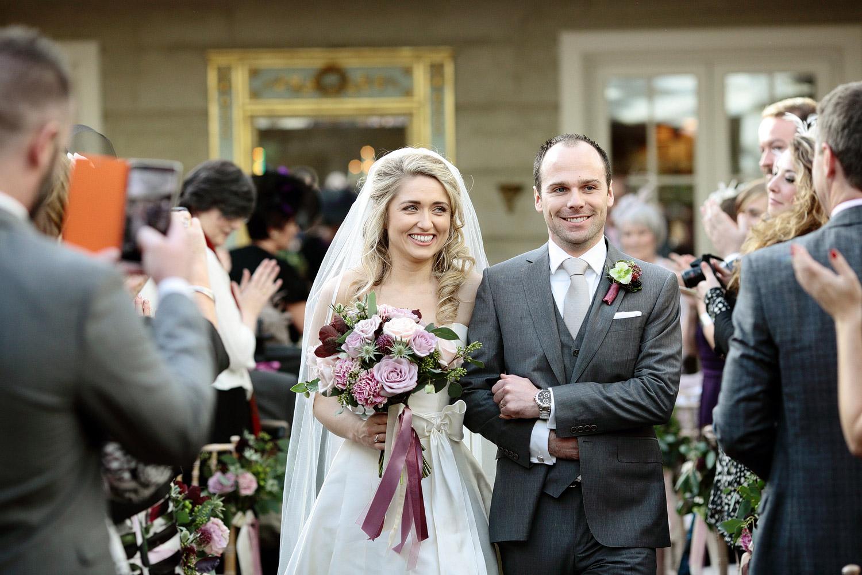 Tankardstown House wedding ceremony photo