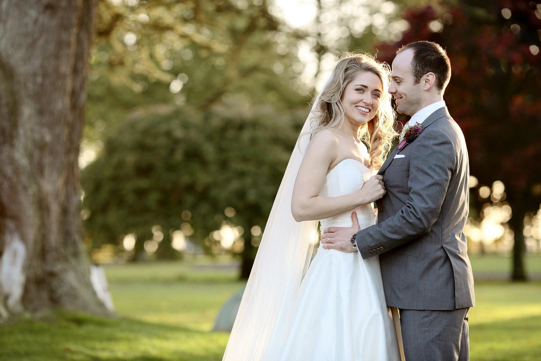 Tankardstown House wedding bride and groom portrat