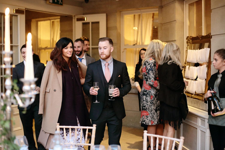 Tankardstown House wedding the orangery reception