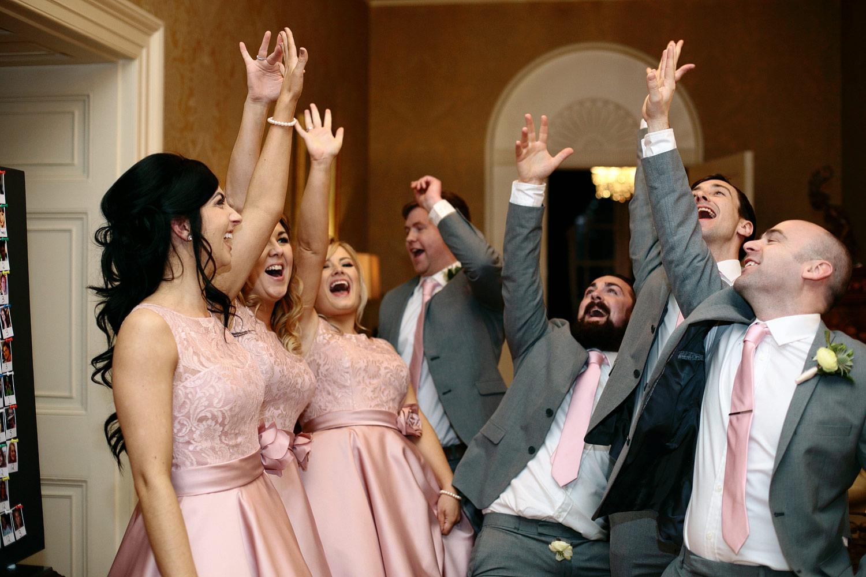 Tankardstown House wedding photos bridal party
