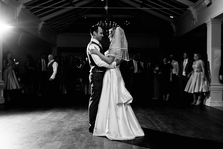 Tankardstown House wedding reception first dance