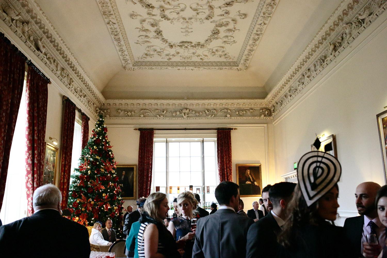 winter wedding at Castlemartyr Hotel