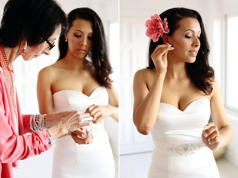 Bride getting ready photo Elixir Ibiza