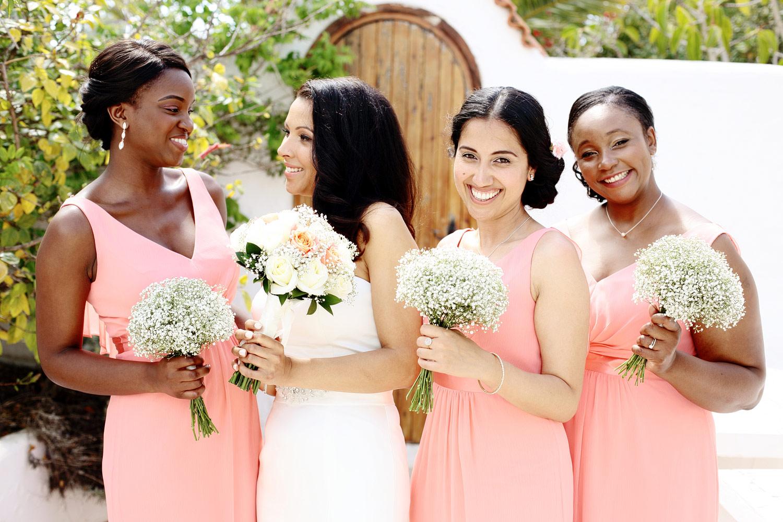 Bridesmaids photo Ibiza wedding
