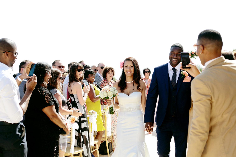 outdoor wedding ceremony photo at Elixir Ibiza