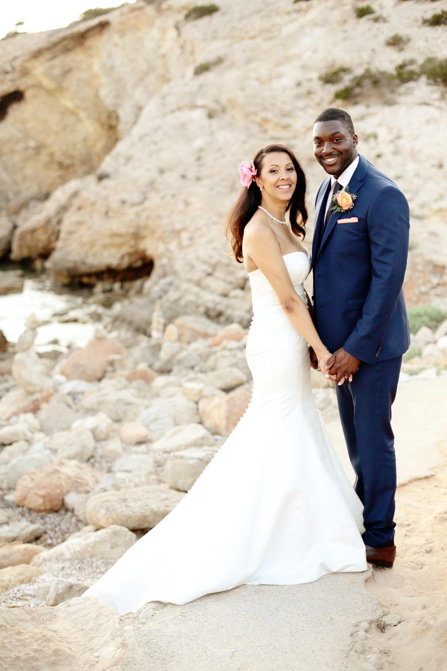 beach wedding photos Ibiza