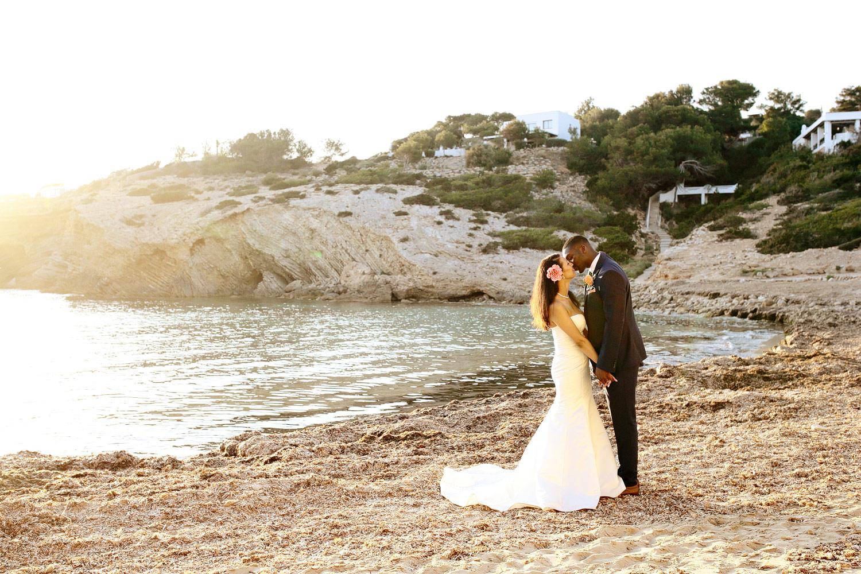 wedding beach photo Elixir Ibiza