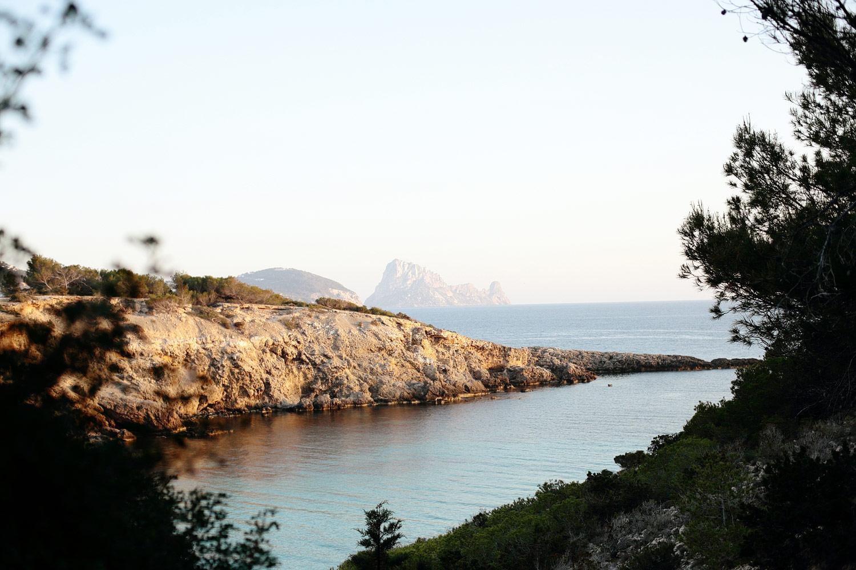 wedding overlooking Es Vedra Ibiza