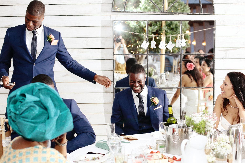 wedding speeches photo at Elixir Ibiza