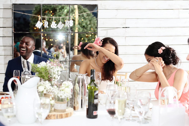 best man wedding speech photo at Elixir Ibiza