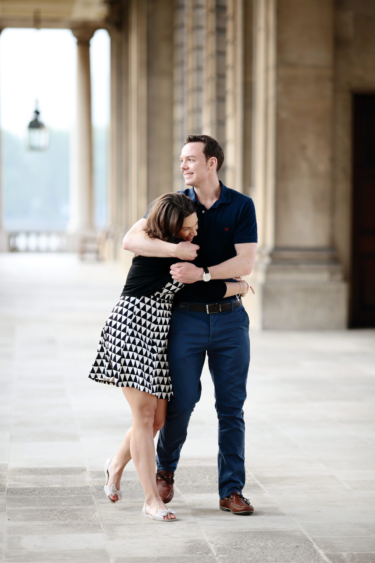 Engagement photo in Greenwich London