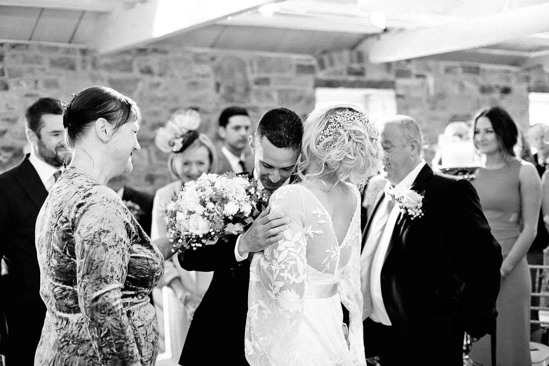 humanist wedding ceremony Ballymagarvey Village Meath Ireland