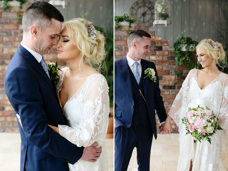 Ballymagarvey village natural wedding photography