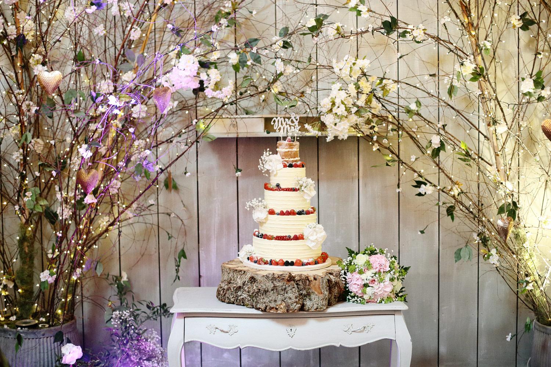 Ballymagarvey Village wedding cake photo