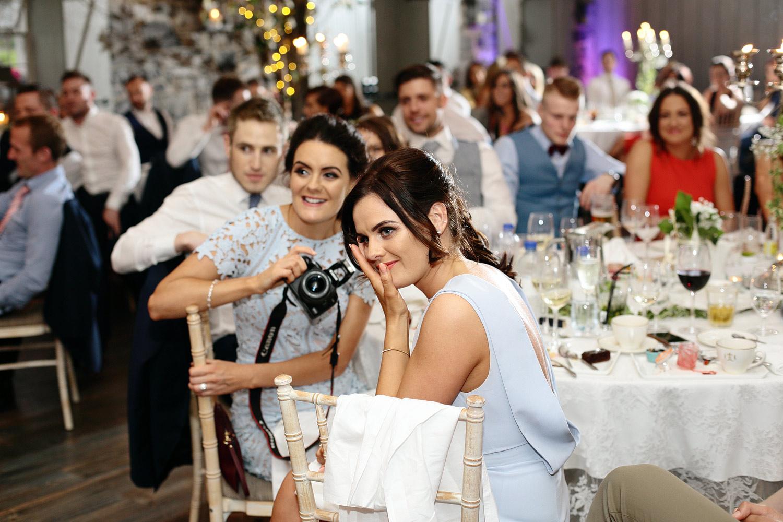 Ballymagarvey Village wedding speeches