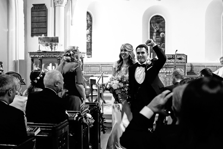 Tinakilly House wedding ceremony photo
