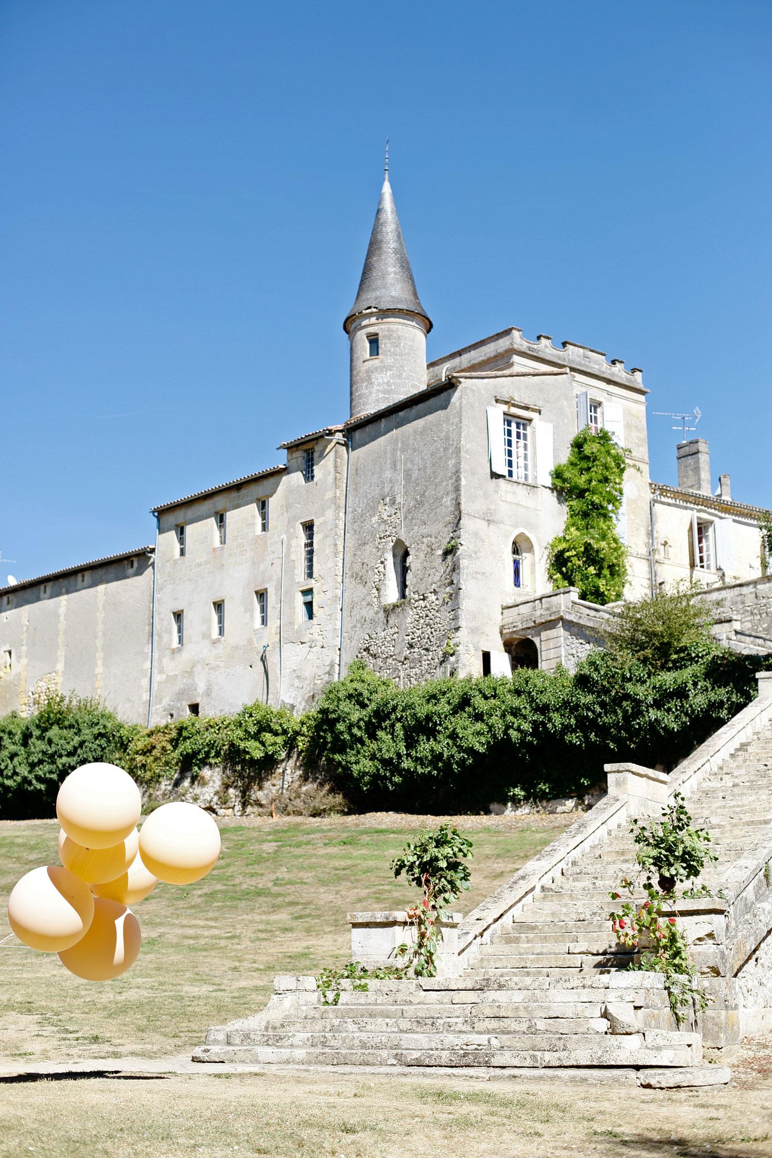 Bordeaux wedding chateau