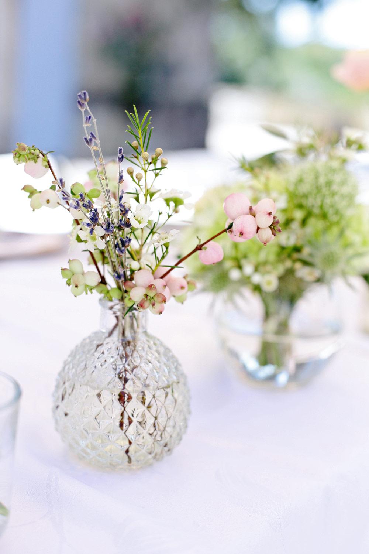 wedding reception flowers chateau lagorce bordeaux