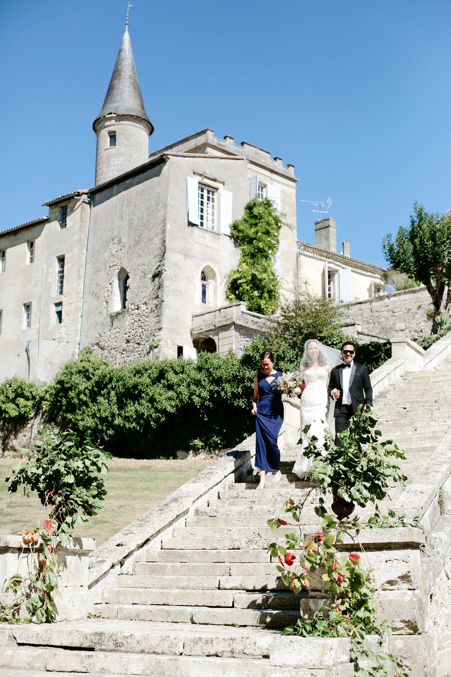 outdoor wedding venue Bordeaux France