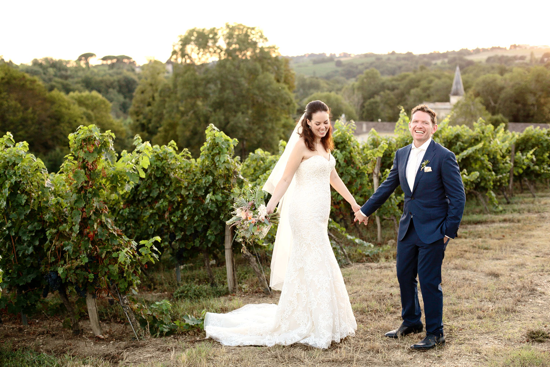 vineyard wedding venue in Bordeaux France