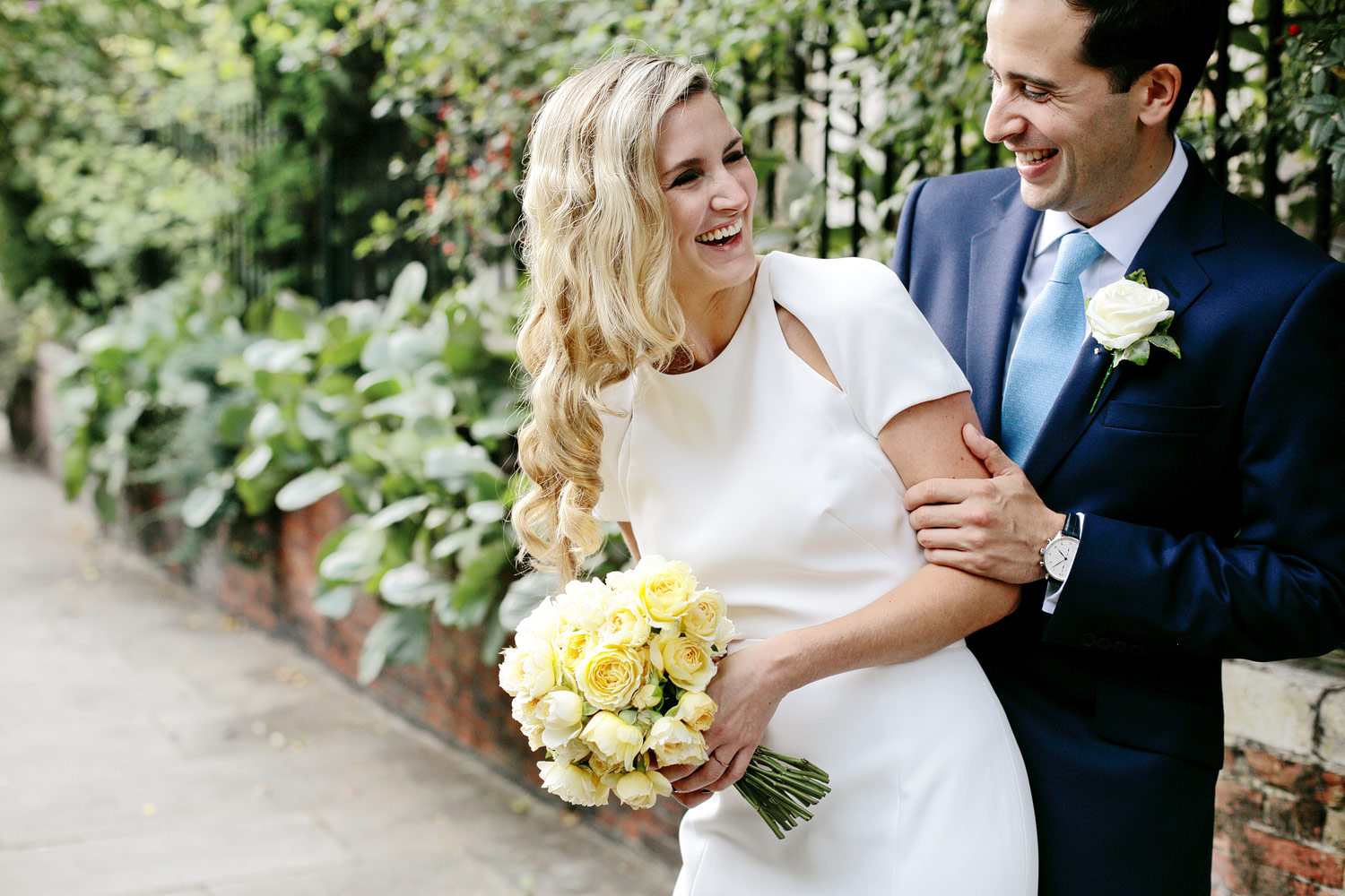 natural wedding photography in London