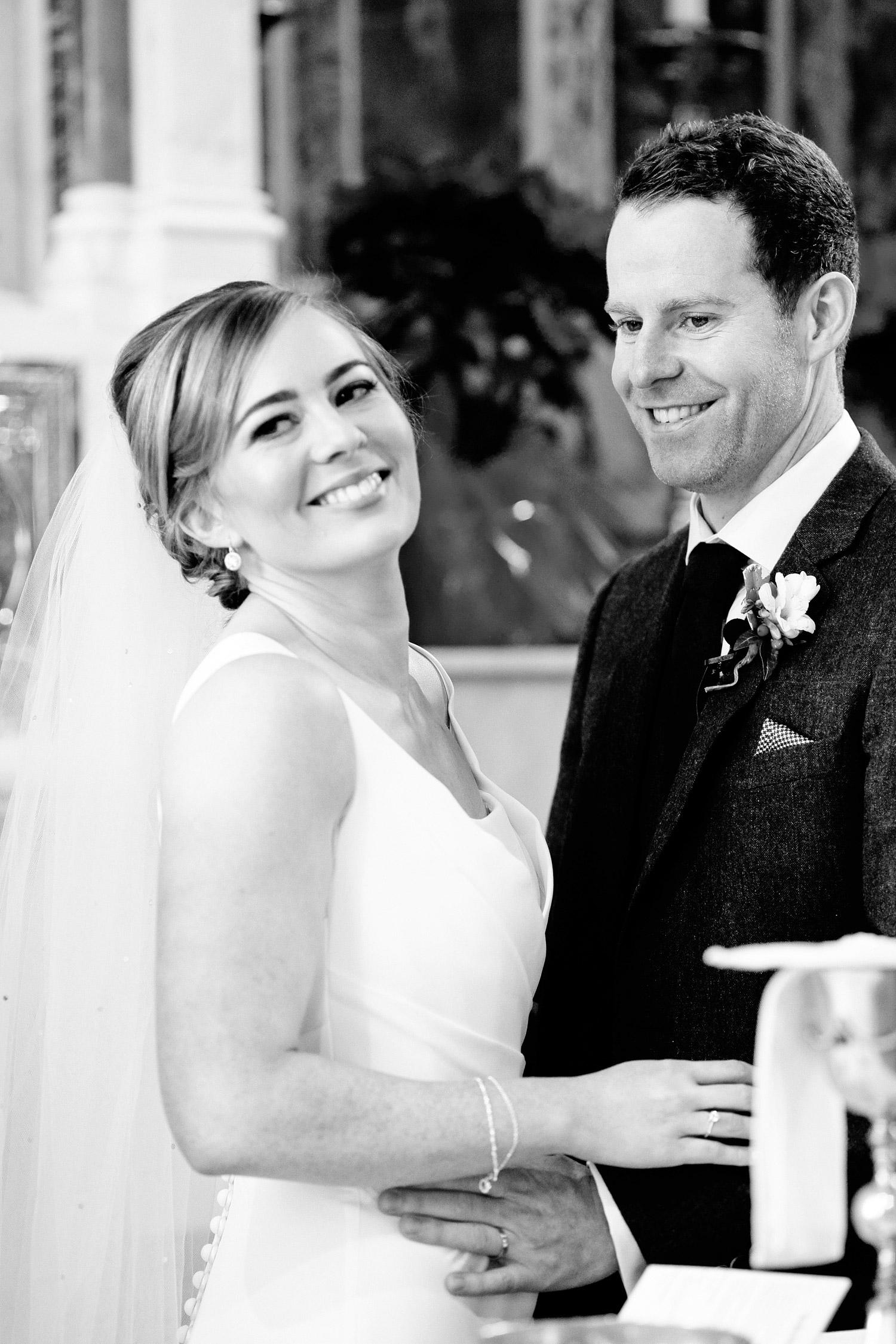 clonabreany house wedding happy bride and groom