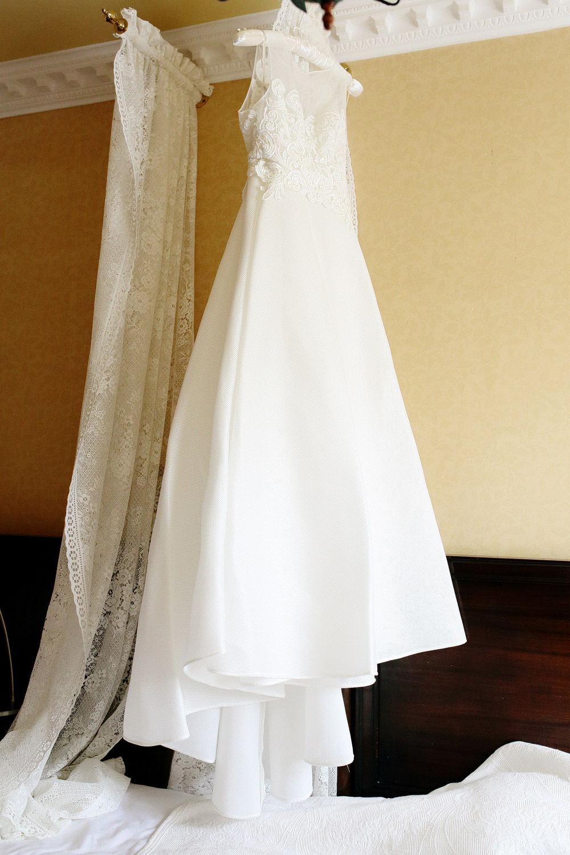 Dromquinna Manor wedding dress photo