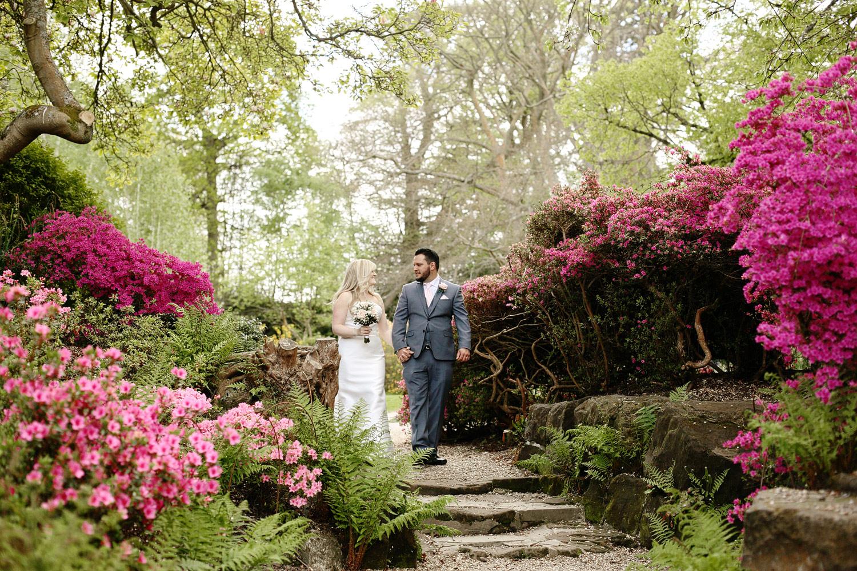 wedding in Hever Castle