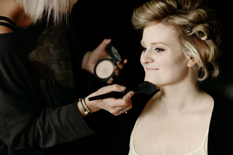 Hever Catsle bride make-up