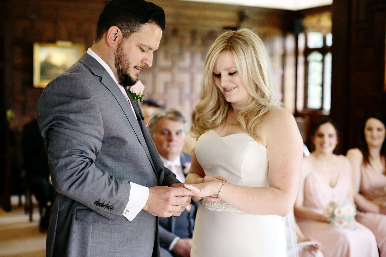 emotional wedding vows Hever Castle