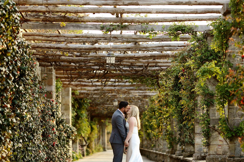 romantic photo in Italian Gardens Hever Castle