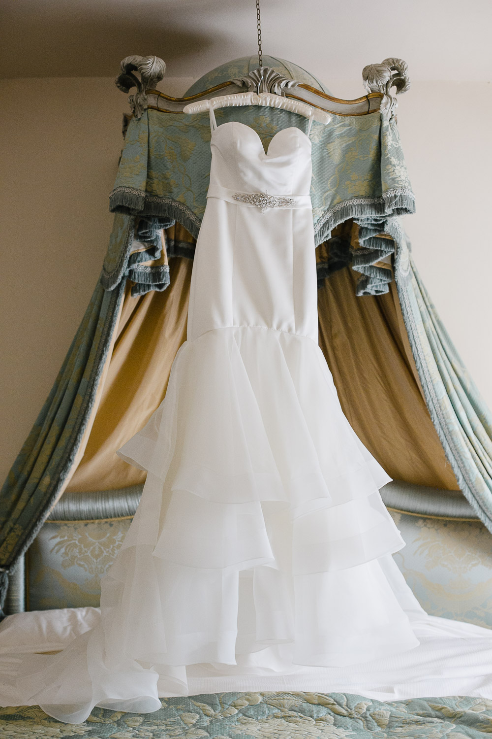 tankardstown house wedding dress photo