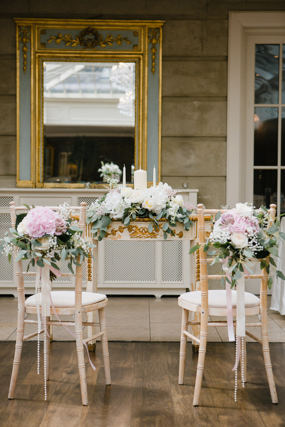orangery ceremony at tankardstown house