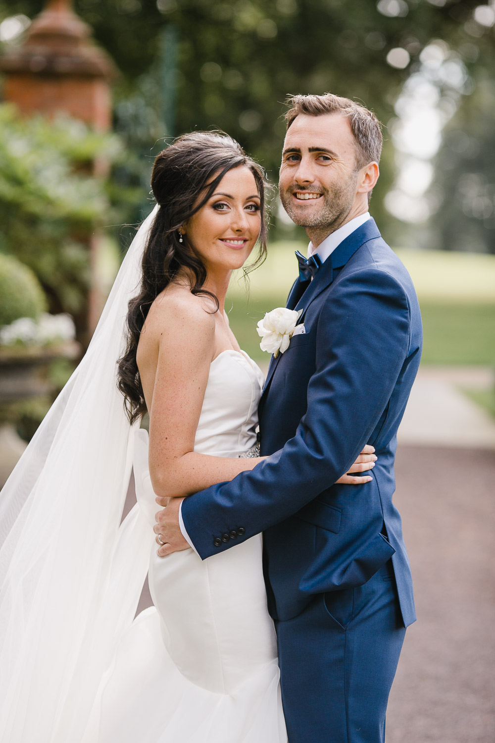 romantic bride and groom photo tankardstown wedding