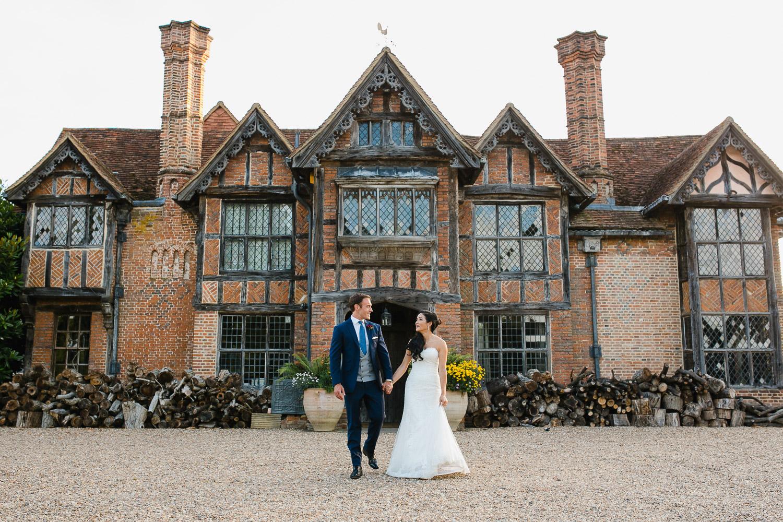 summer wedding at Dorney Court in Berkshire