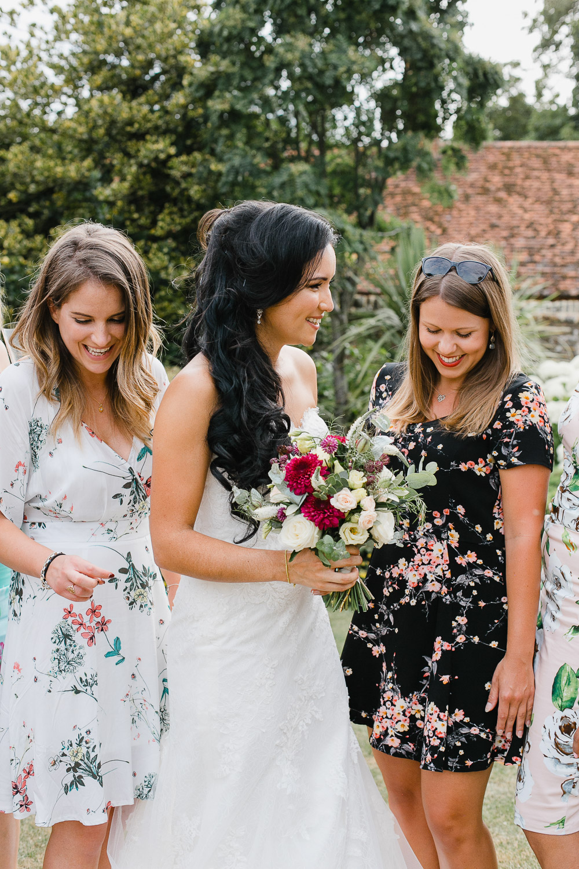 summer wedding at dorney court berkshire