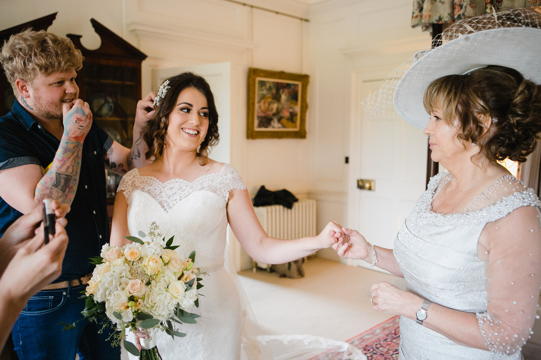 elegant wedding at Dumfries House