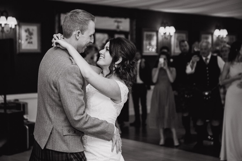 Dumfries House wedding first dance photo