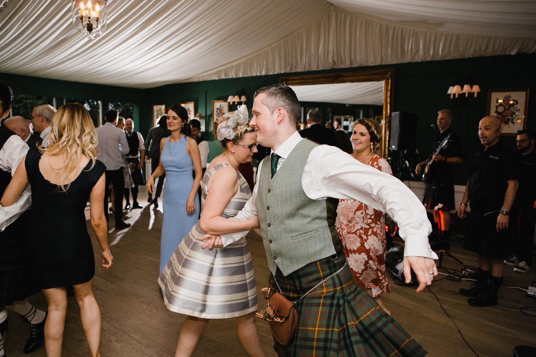 Dumfries House wedding ceilidh dancing