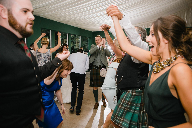Scottish ceilidh wedding band
