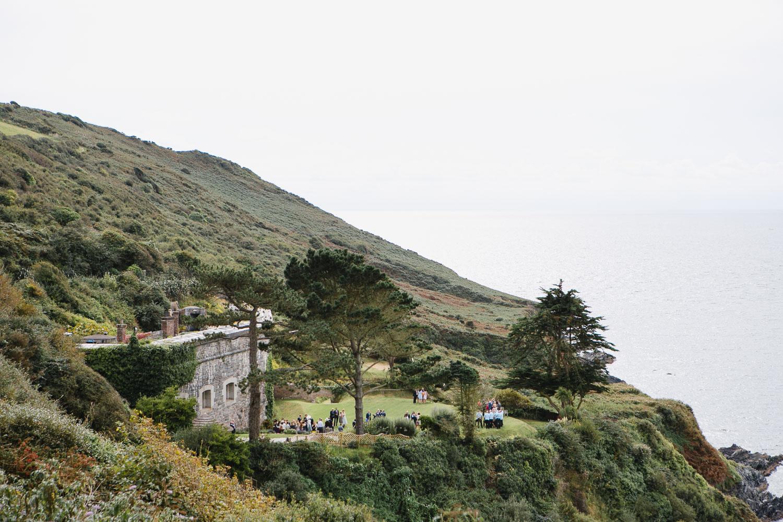 Seaside wedding venue in Cornwall