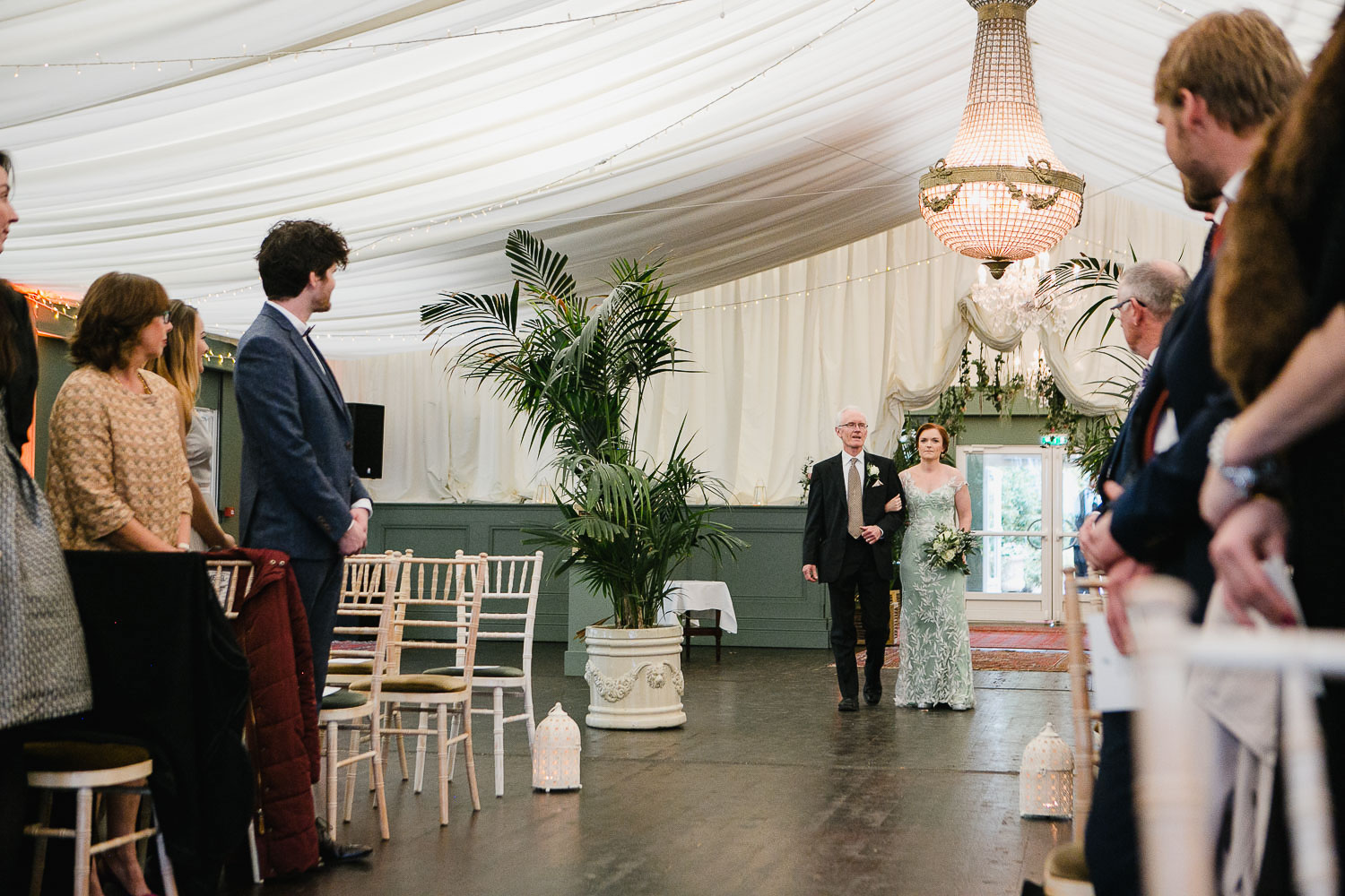 Marquee Ceremony In Tinakilly House Wicklow