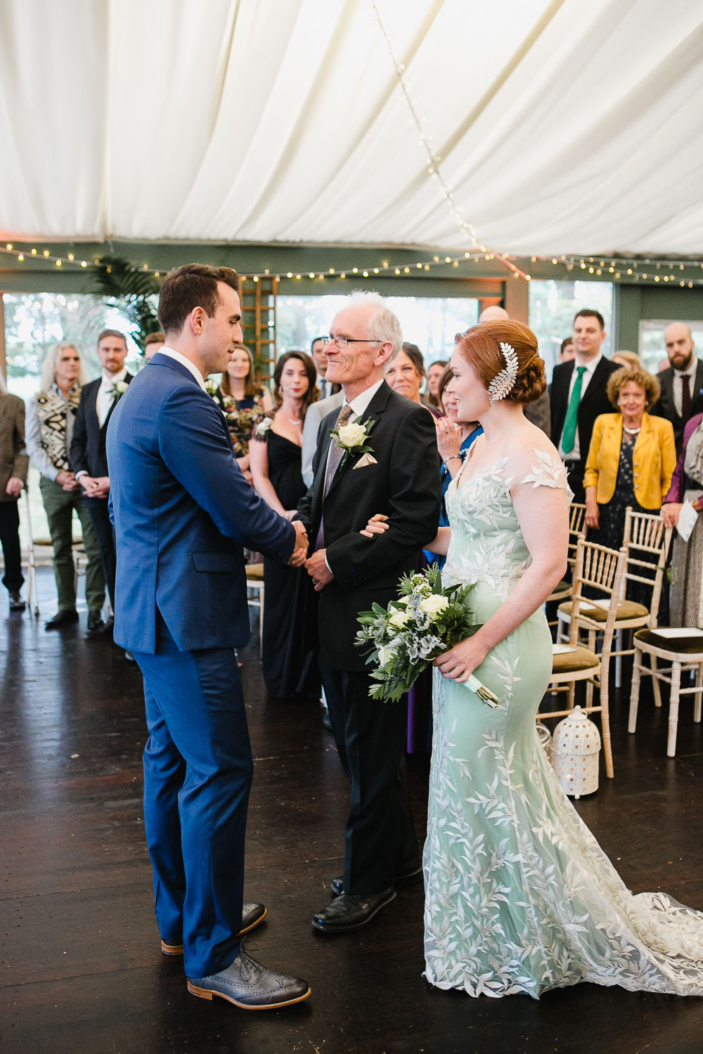 Humanist Wedding Ceremony In Tinakilly House In Wicklow