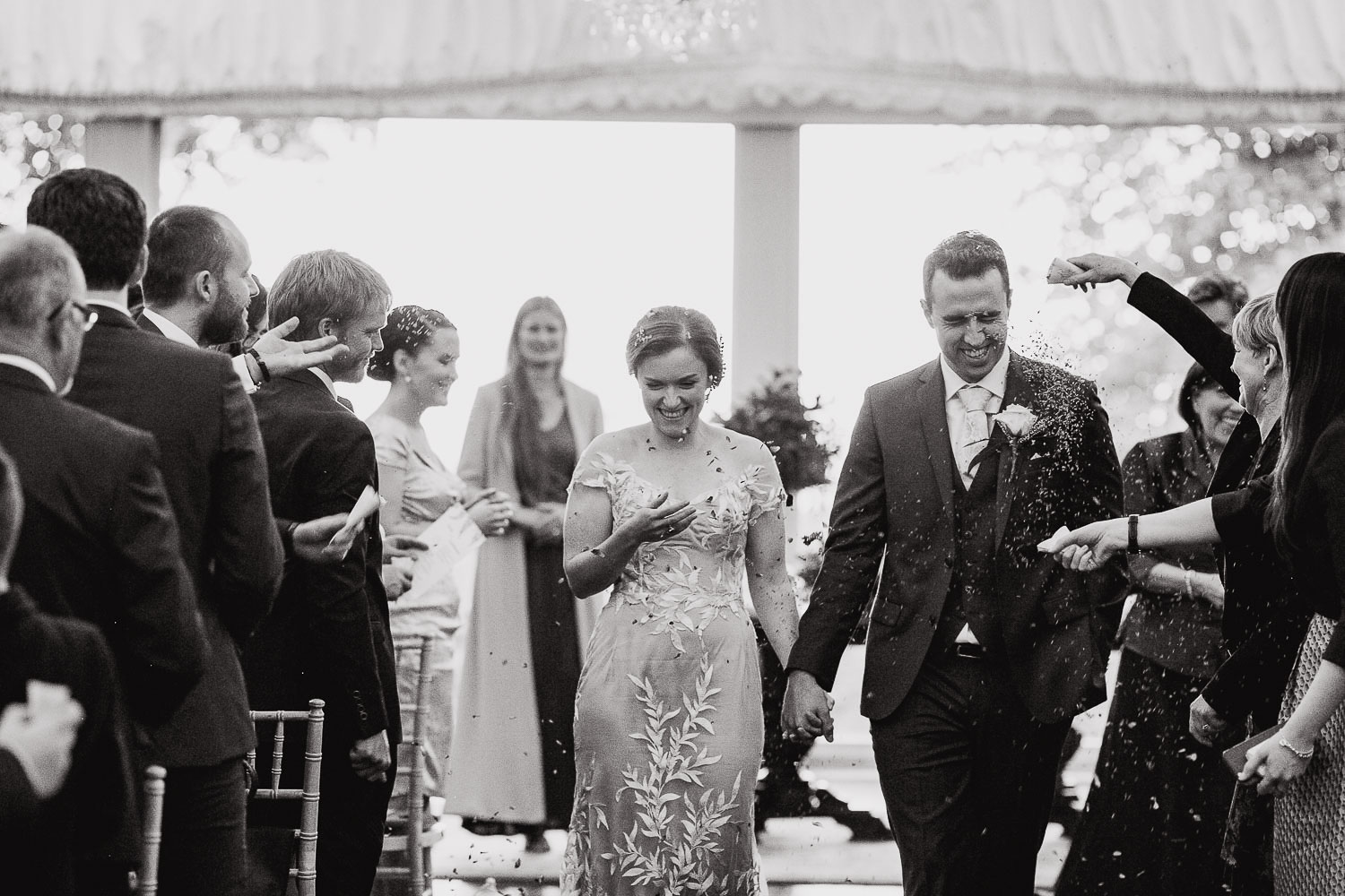 Wedding Confetti Photo In Tinakilly House Wicklow