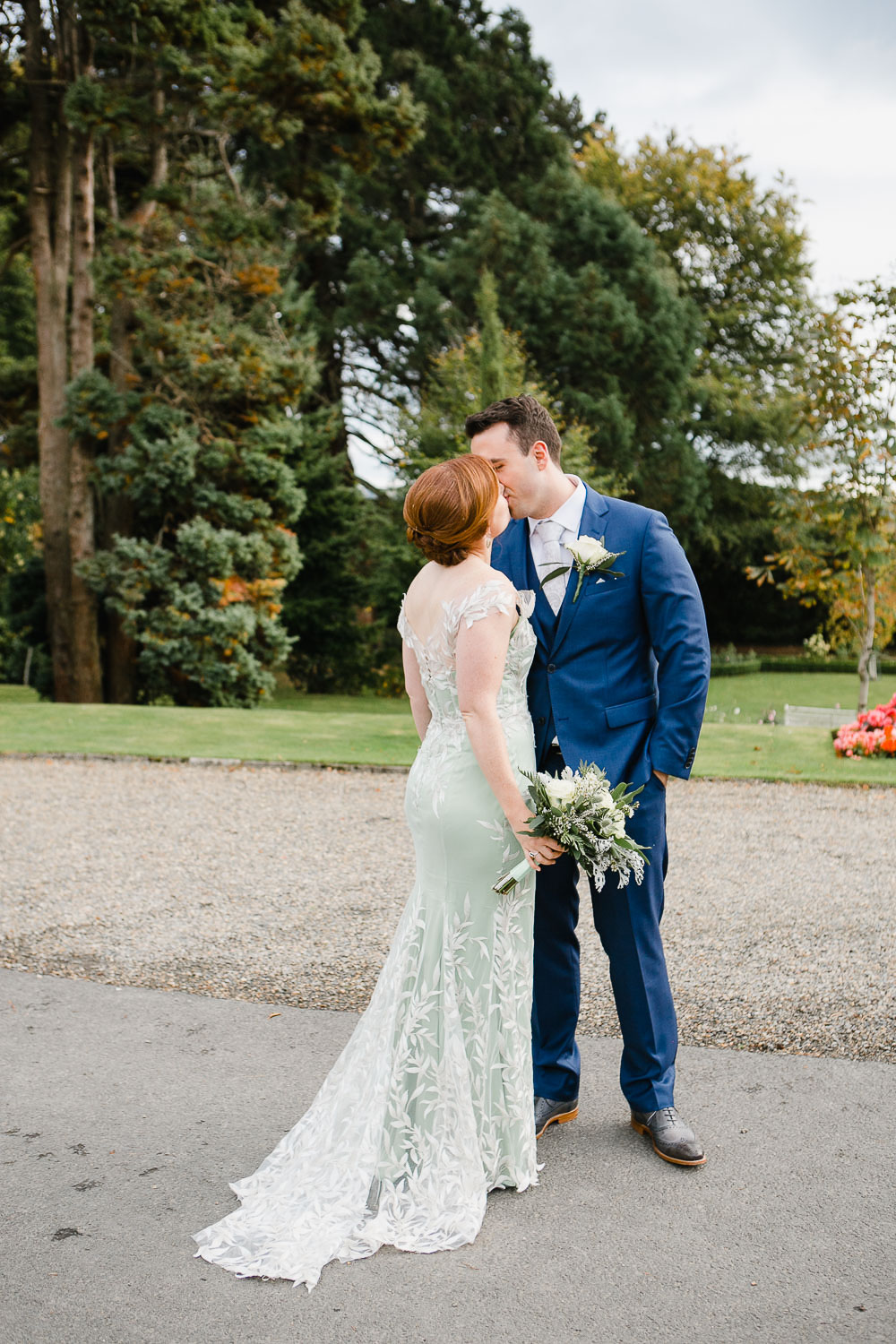 Tinakilly Country House Wedding Photo Of Bride And Groom