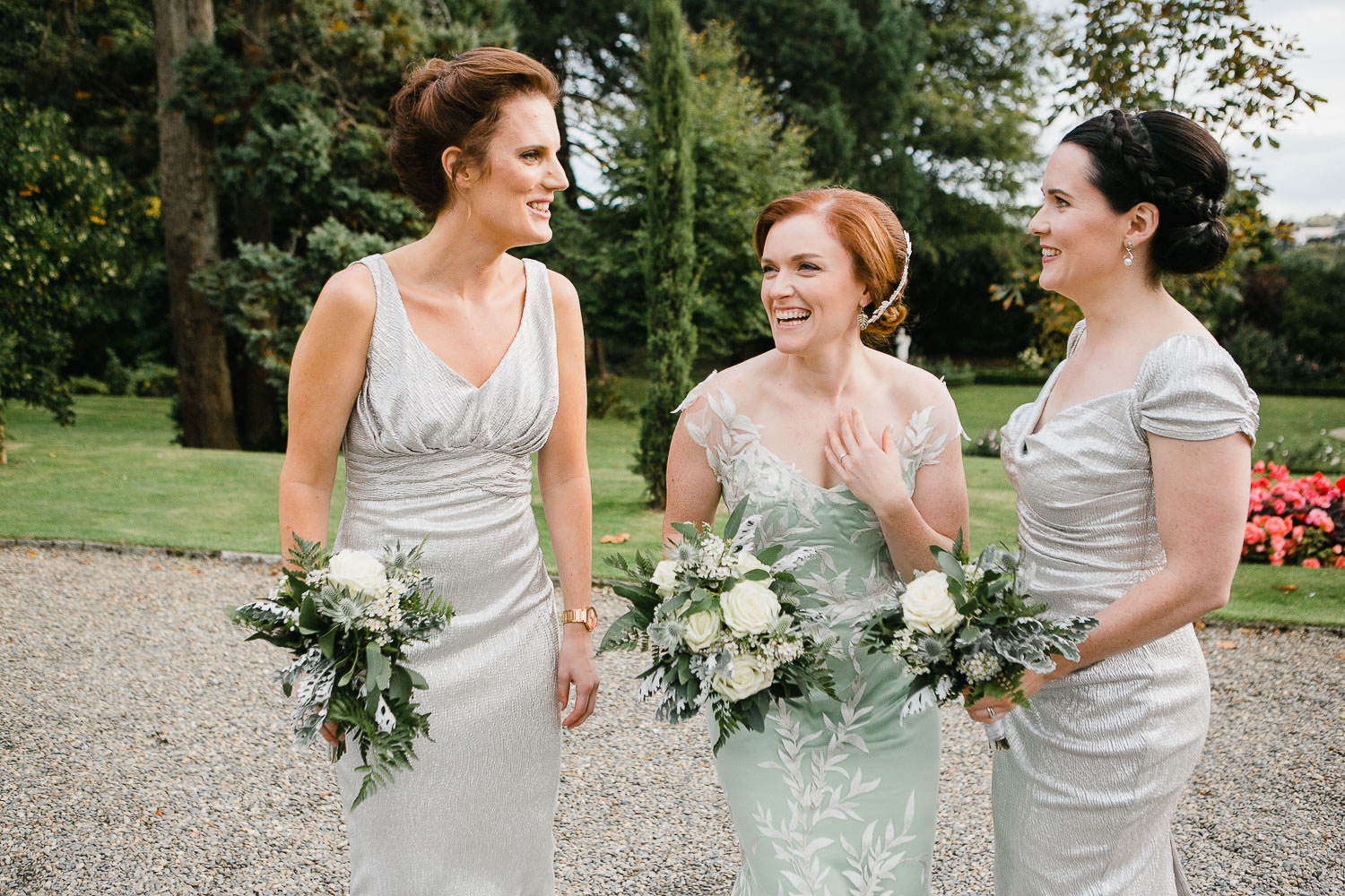 Bridesmaids Photo In Tinakilly Country House