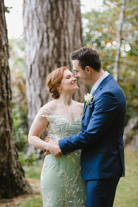 Green Wedding Dress Photo