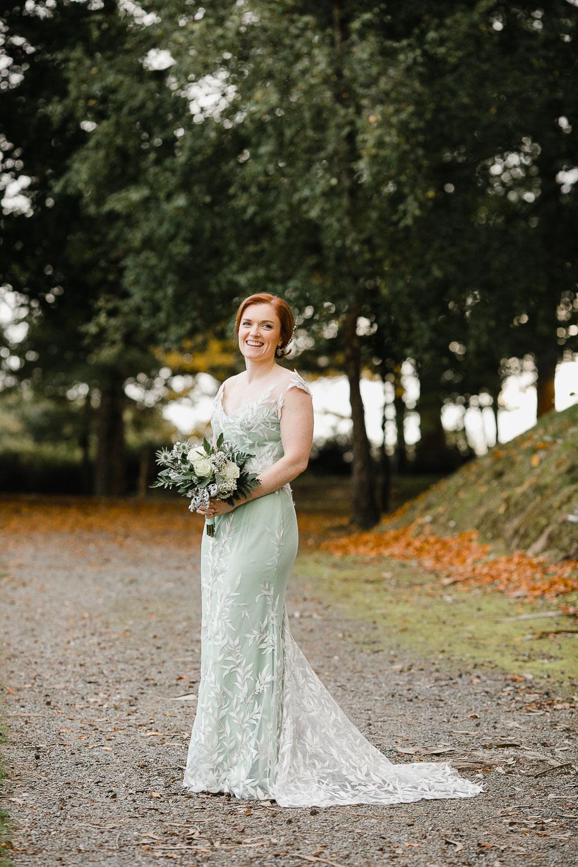 Bespoke Wedding Dress By Joanne Fleming Design