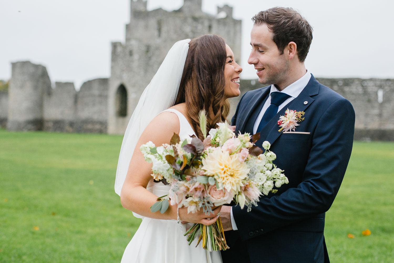 Wedding Photo Outside Trim Castle In Meath.jpg